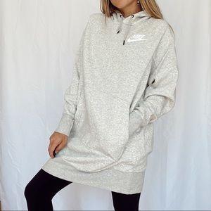 nike oversized hoodie !